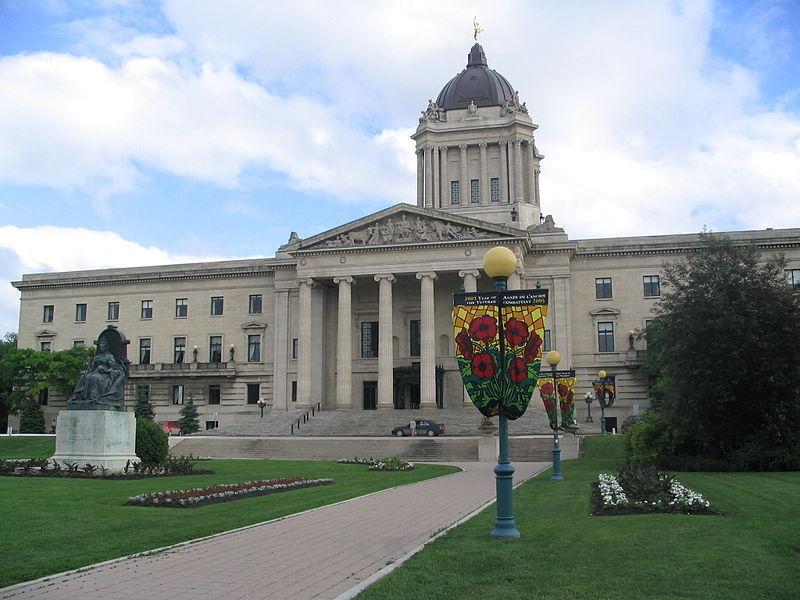 Здание Законодательной ассамблеи, Виннипег