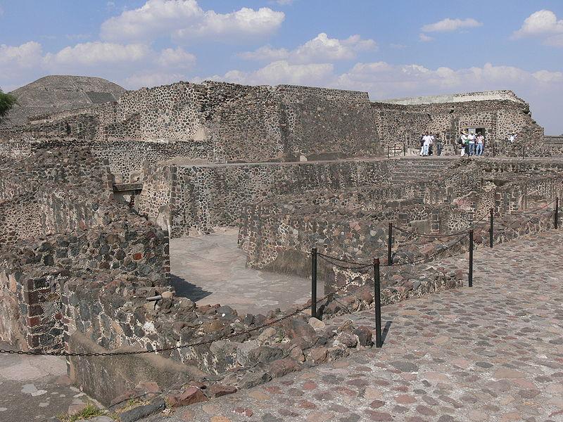 Дворец Кетцальпапалотля