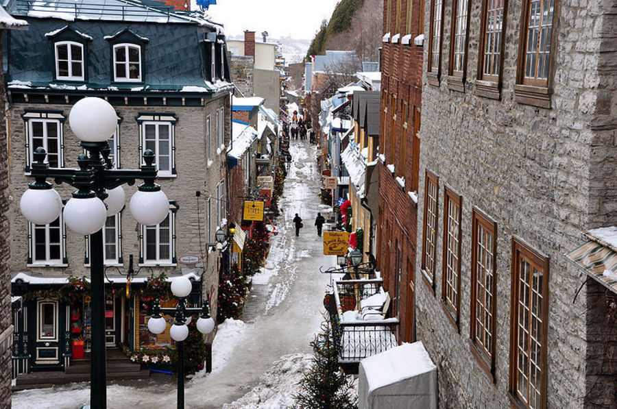 Улица Пти-Шамплейн, Квебек-сити