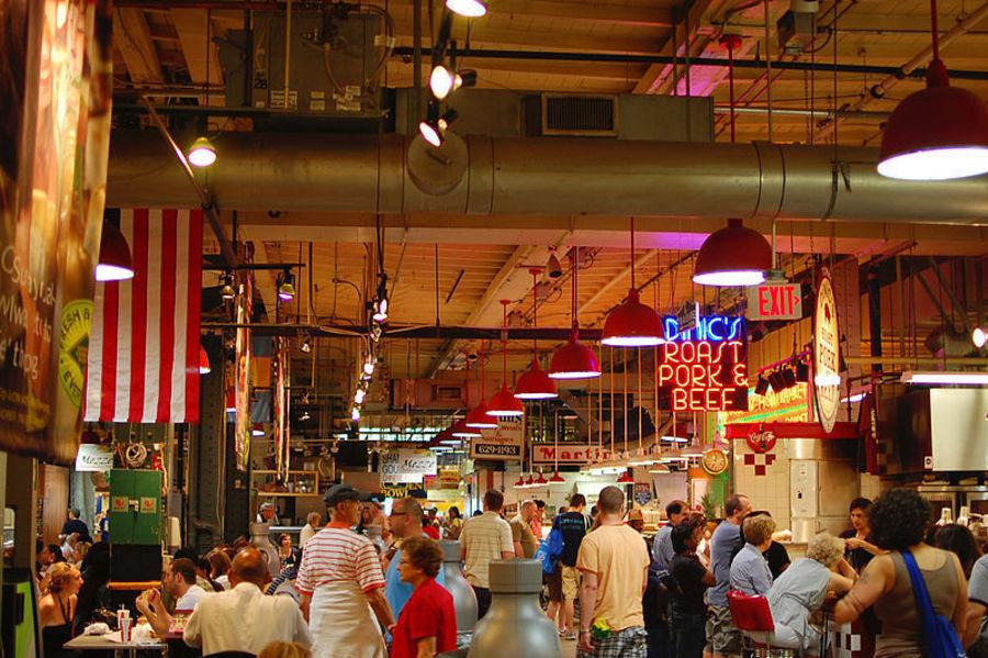 Рынок вокзала Ридинг