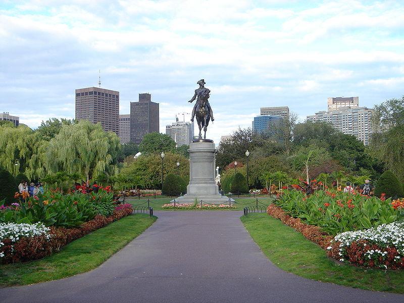Бостонский общественный парк