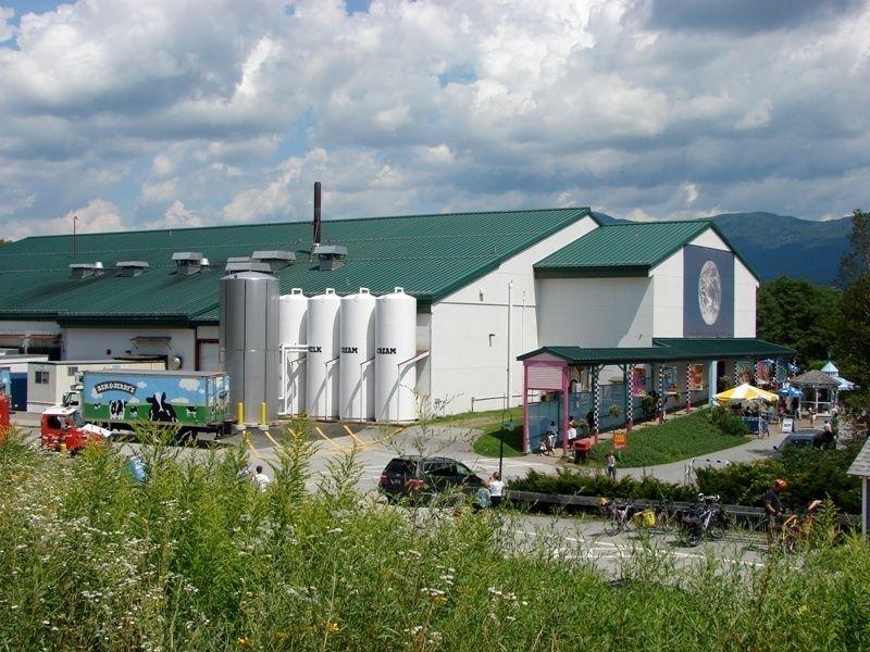 Фабрика мороженого Бена и Джерри