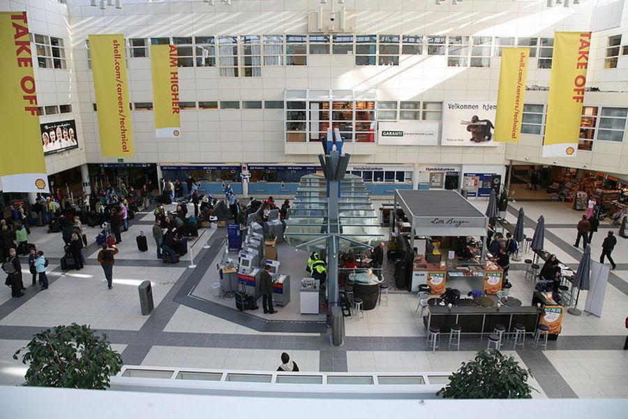 Bergen-Flesland airport