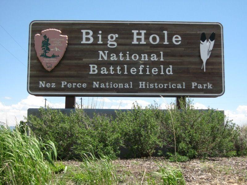 Историческое поле битвы Биг Хол