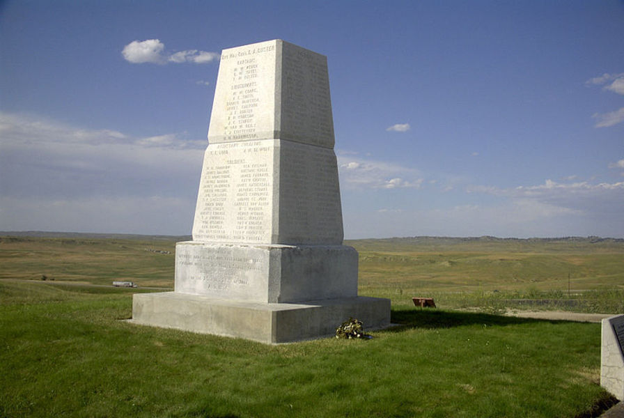 Памятник Битва на реке Литл-Биг-Хорн