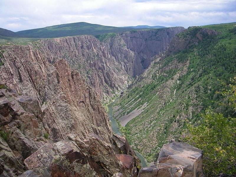 Национальный парк Блэк-каньон реки Ганнисон