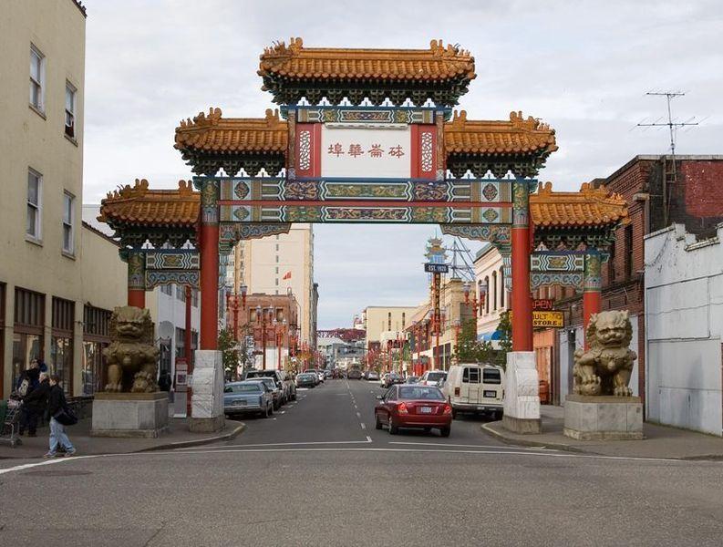 Старый город и китайский квартал