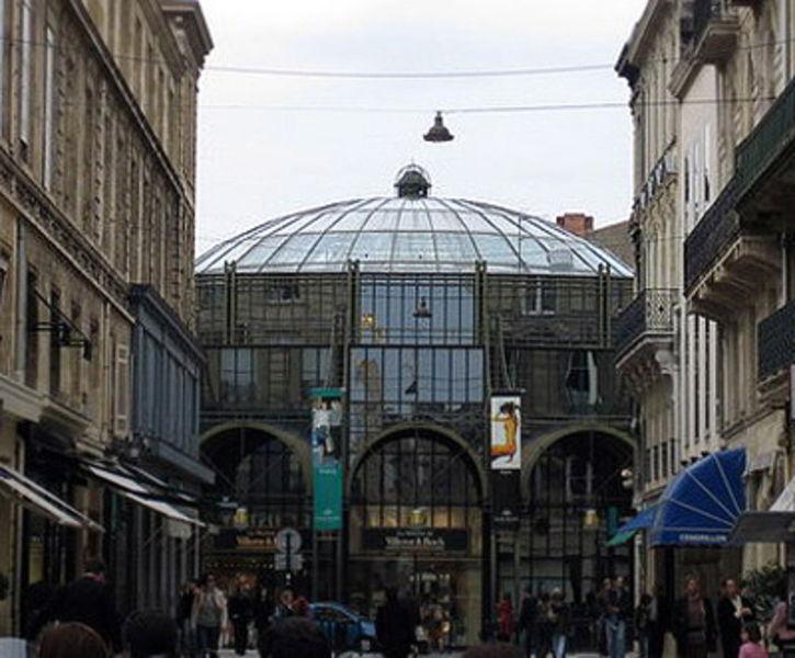 Shopping center Galerie des Grands Hommes Bordeaux