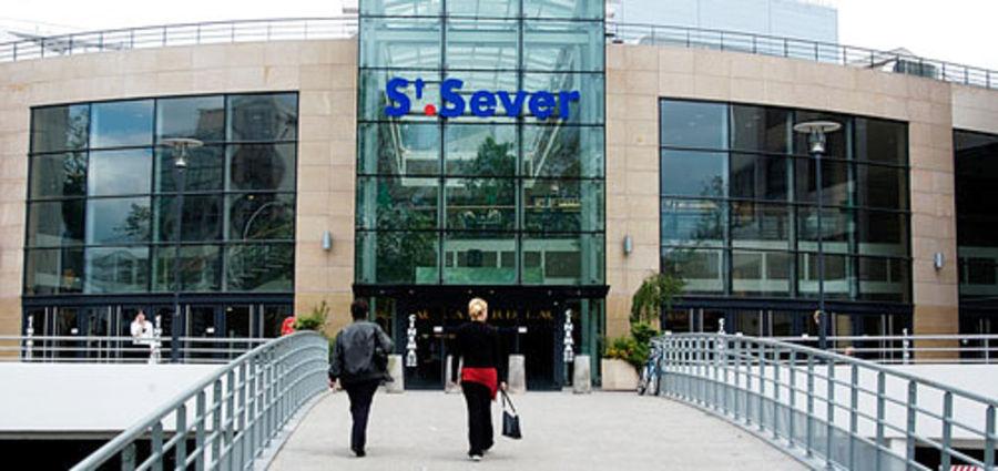 Shopping center Saint Sever