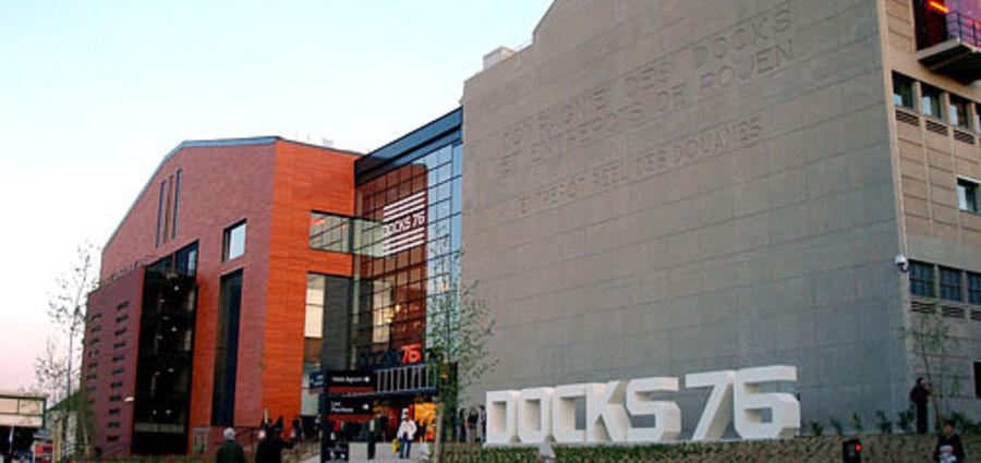 Shopping center Les Docks 76