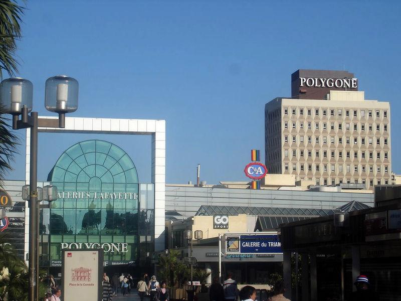 Shopping center Polygone