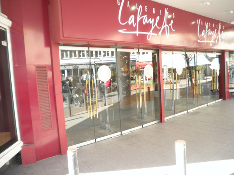 Shopping center Galeries Lafayette, Caen