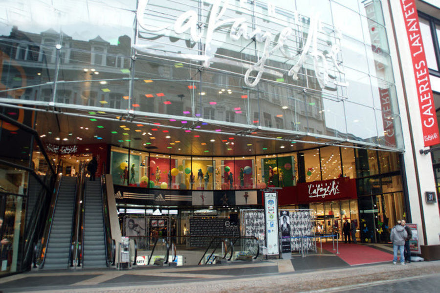 Shopping center Galeries Lafayette, Lille
