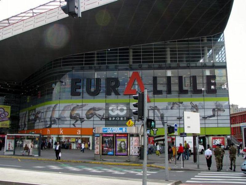 Shopping center Euralille