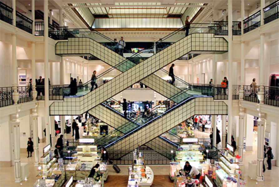 Shopping center Bon Marche