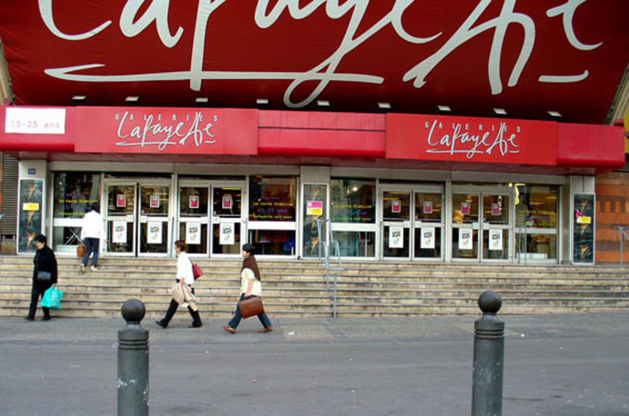 Shopping center Galeries Lafayette, Marseille