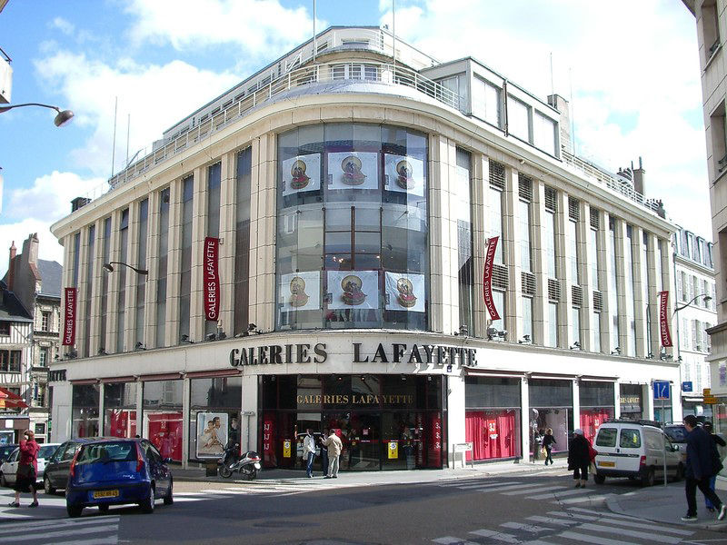 Shopping center Galeries Lafayette, Orlеans