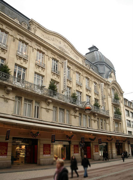 Shopping center Galeries Lafayette, Reims