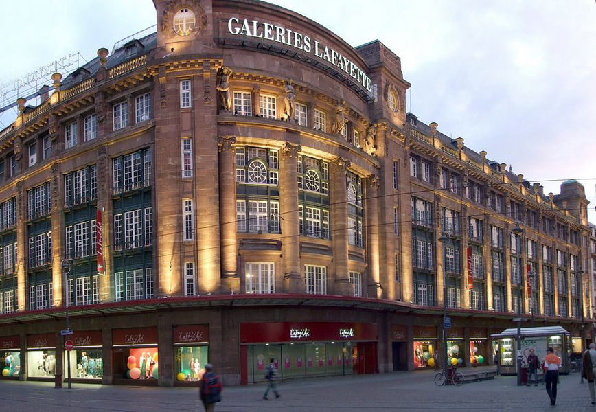 Shopping center Galeries Lafayette, Strasbourg