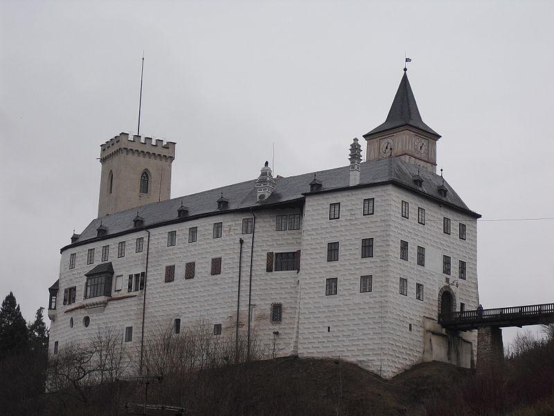 Замок Рожемберк-над-Влтавоу