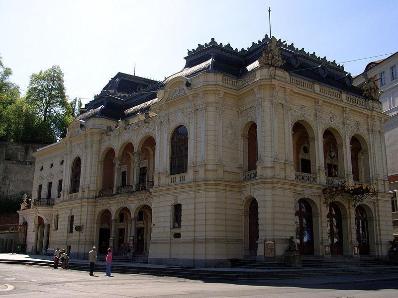 Городской театр, Карловы Вары