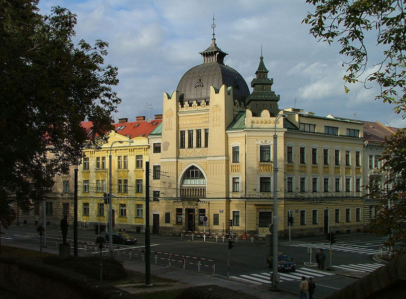 Бывшая синагога, Градец-Кралове