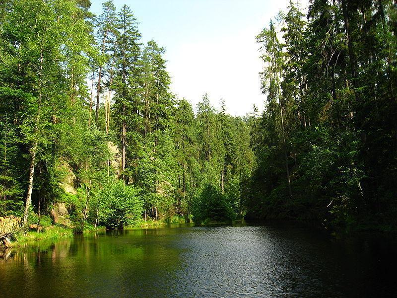 Скалы Адршпах-Теплице