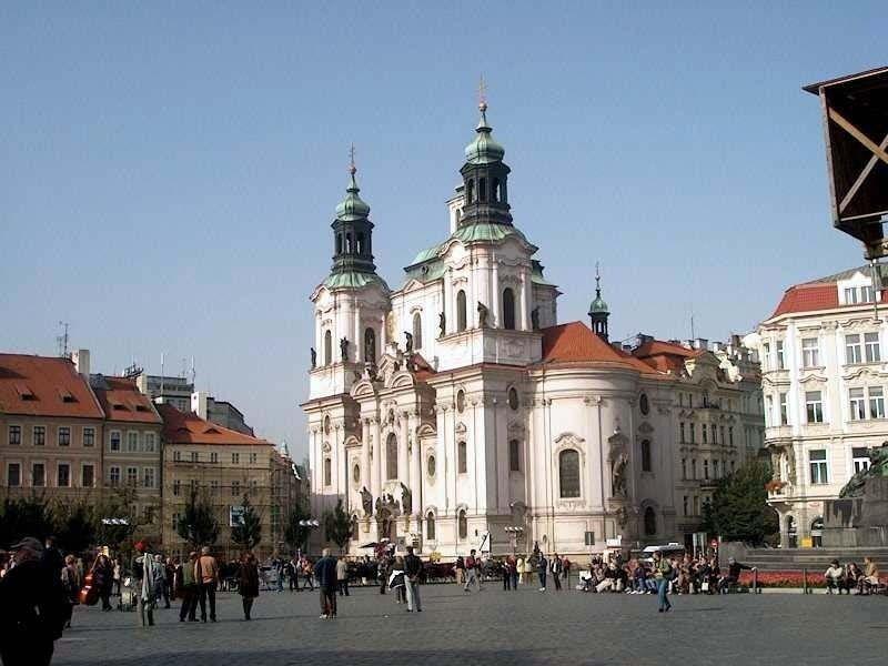 Храм Св. Микулаша (Николая), Прага