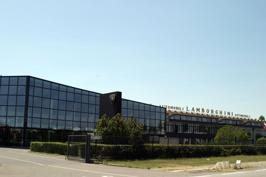 Завод Ламборджини