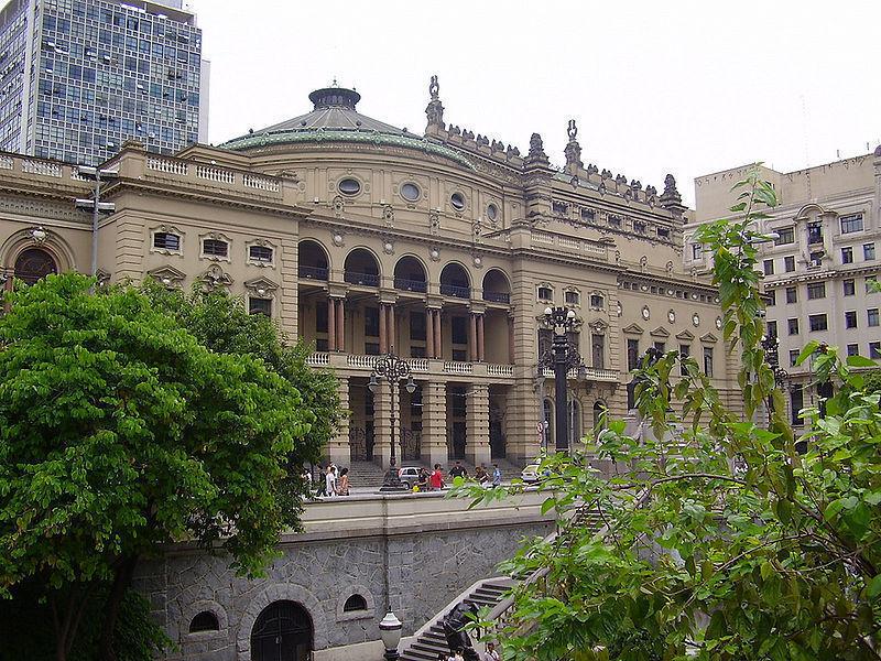 Театру Мунисипал, Сан-Паулу