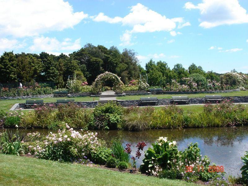 Оклендский ботанический сад