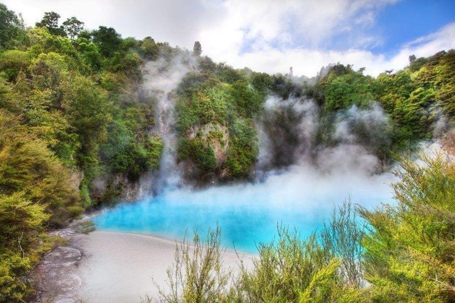 Долина вулканов Уаймангу
