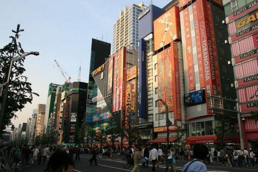 Район электроники Акихабара