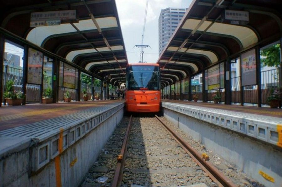 Трамвайная линия Аракава
