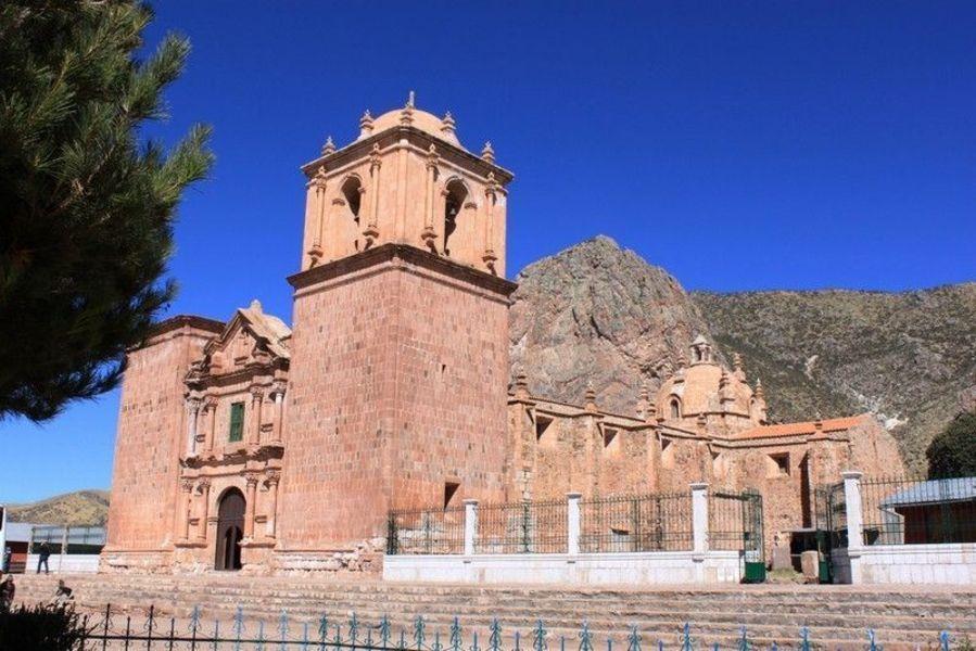 Церковь Сантьяго, покровителя Поматы
