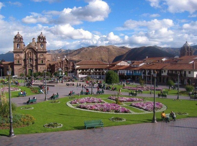 Пласа-де-Армас, Куско