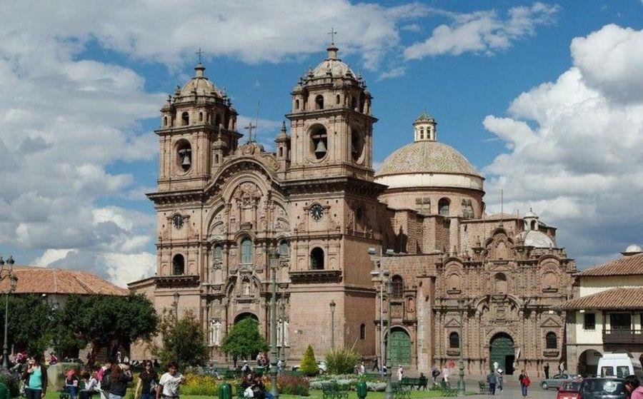 Церковь Ла-Компаниа, Куско