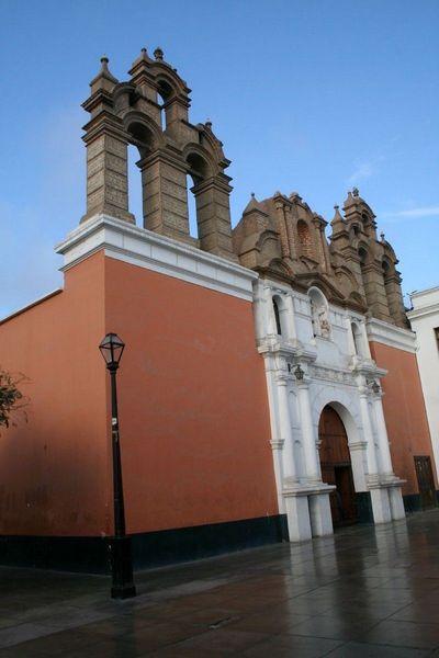 Церковь Ла-Мерсед, Трухильо