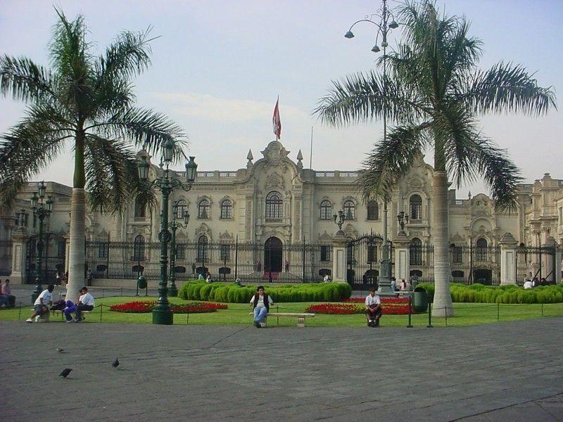 Дворец правительства, Лима