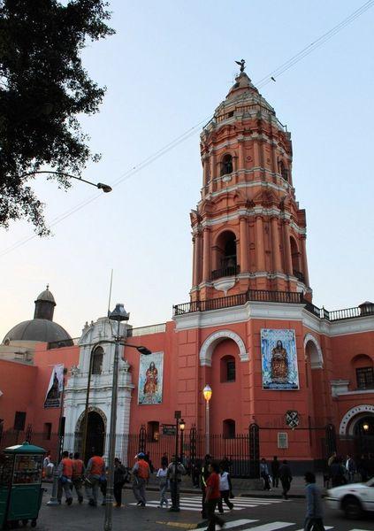 Церковь Санто-Доминго, Лима