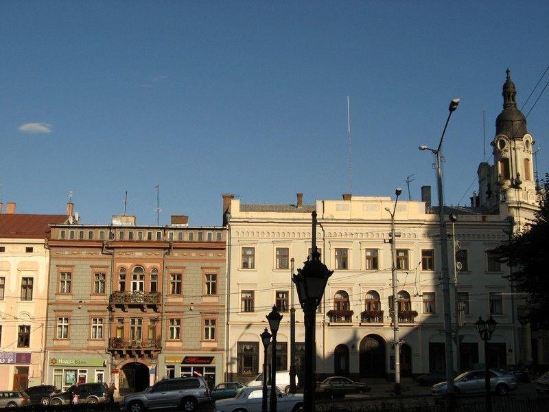 Центральная площадь, Черновцы