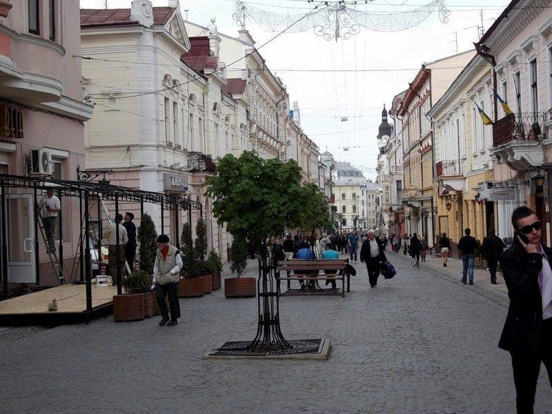 Улица Ольги Кобылянской