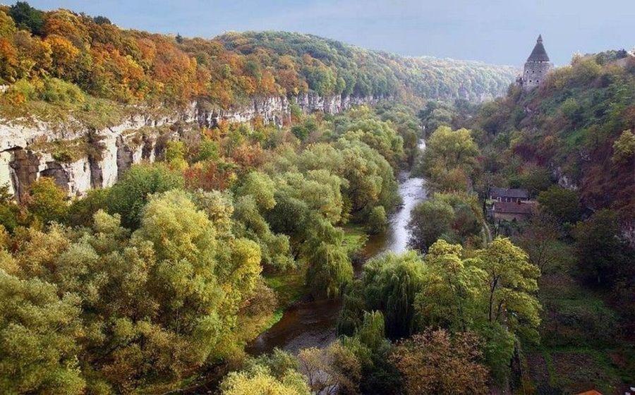 Каньон реки Смотрич