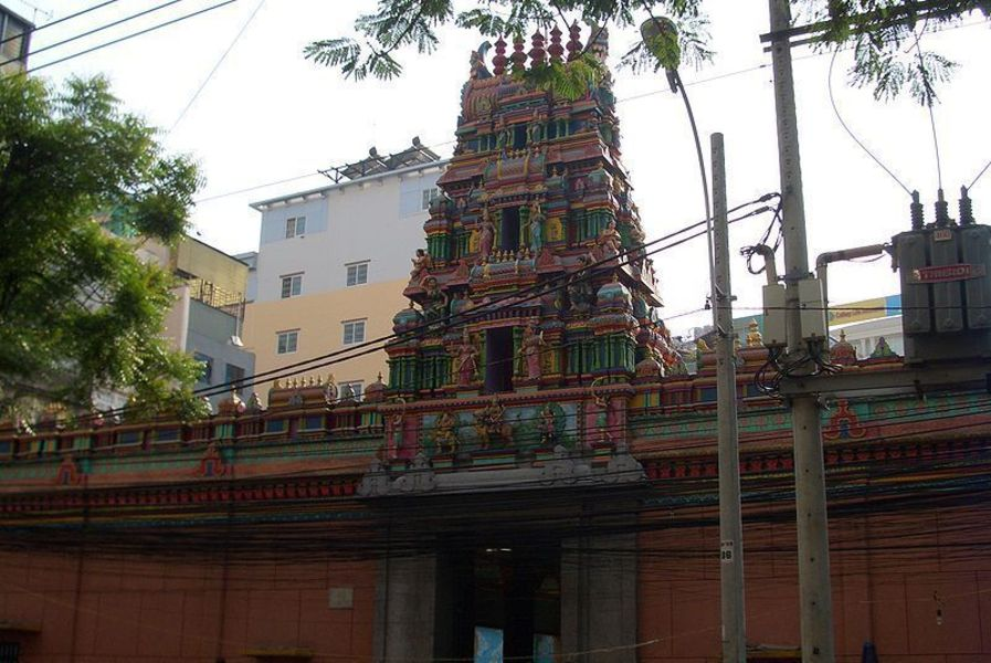 Индуистский храм Марьямман