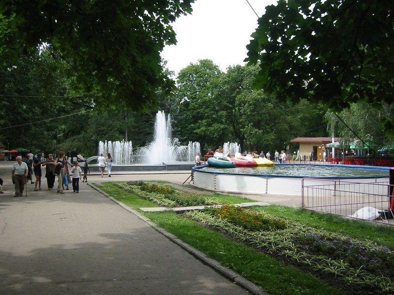 Сад им. Шевченко, Харьков