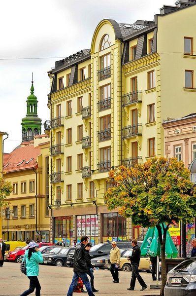 Площадь Рынок, Ивано-Франковск