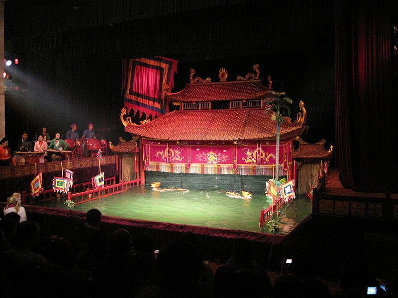 Театр кукол на воде «Тханглонг»