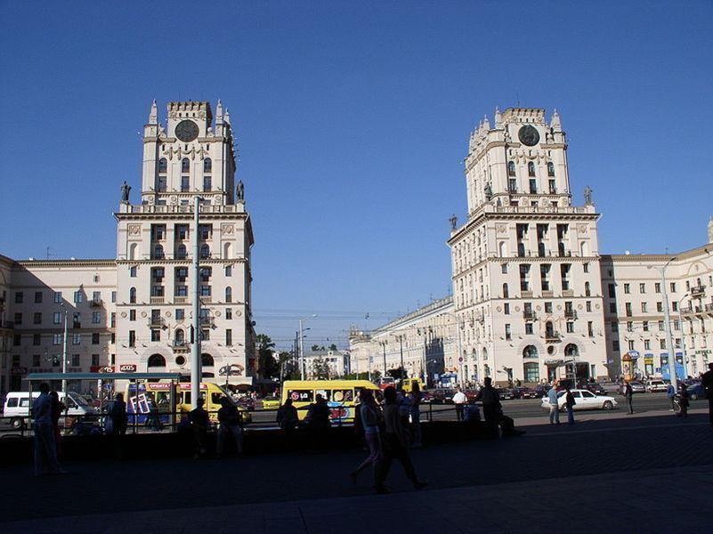 Привокзальная площадь, Минск
