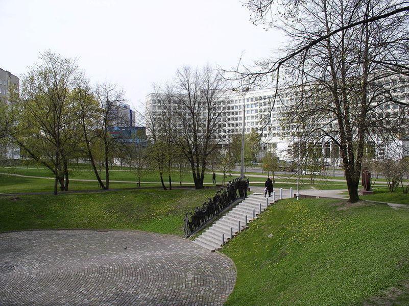 Еврейский мемориал на Заславской