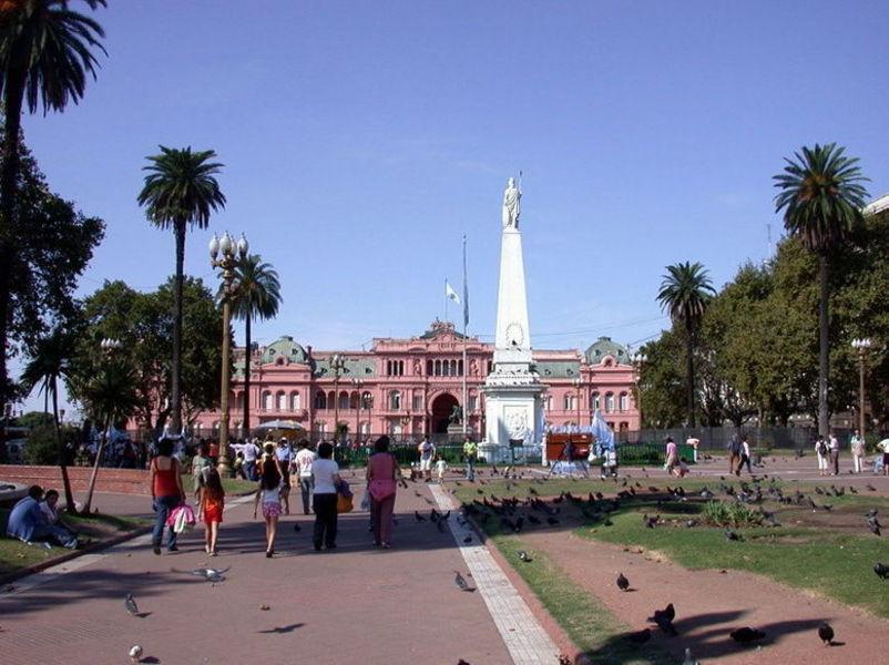 Пласа-де-Майо, Буэнос-Айрес